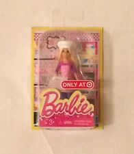"NIB Mattel Barbie ""I can be"" Chef Doll Figure 4"""