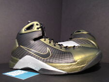 2009 Nike HYPERDUNK SUPREME FOAMPOSITE METALLIC GOLD BLACK SILVER GREY ZINC 11.5