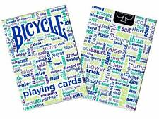 Bicycle Table Talk Deck - Blue - Playing Cards - Magic Tricks - New