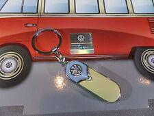 VOLKSWAGEN VW FURGONETA Llavero - beige/azul - nuevo y emb. orig. - 610064/C