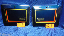 NOS VETTER WINDJAMMER SADDLE BAG CASE DOORS SET L+R SUZUKI GS 400 550 650 750