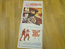 Billy Two Hats  Gregory PECK & WARDEN etc  Original AUSTRALIAN Cinema Poster