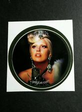 "LADY GAGA GLAMOROUS FACE DIAMOND CROWN MUSIC SMALL 1.5"" GET GLUE GETGLUE STICKER"