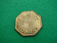 Marché de londres jeton un mai 4 shillings octogonale en forme de livraison internationale