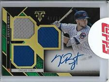 2016 Topps Triple Threads Jersey Patch Auto Kris Bryant /50 CUBS