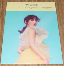 TAEYEON MY VOICE DELUXE SMTOWN COEX Artium SUM GOODS PAPER FOLDER + PHOTO CARD B