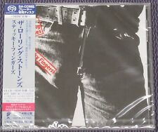 "ROLLING STONES ""STICKY FINGERS"" JAPAN SHM-SACD DSD 2014 JEWEL CASE *SEALED*"