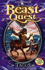 """Tagus the Horse-man (Beast Quest) Adam Blade """"AS NEW"""" Book"""