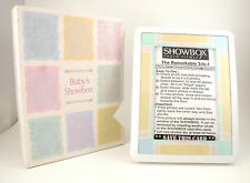 "Baby Pastel 4"" * 6"" SHOWBOX PHOTO VIEWER 3-in-1 Picture Frame(Holds 40 Pictures)"