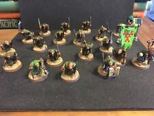 Warhammer Age of Sigmar Skaven Plague Monks x 20 Well Painted Chaos Nurgle