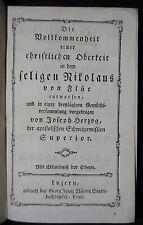 Herzog – Nikolaus von Flüe – Luzern 1792