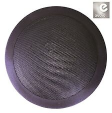 "e-audio Black 6.5"" 8 Ohms 120W Dual 2-Way Quality Ceiling Roof Wall Speaker"