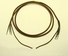 Kellogg cloth telephone cord-NOS phone wire 641D-antique phone cord-old phone