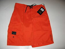Billabong Big Boys 29/18 Orange Neon Rum Point Boardshorts Board Shorts Kids NWT