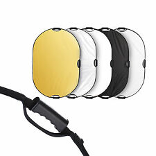 "Selens 32x48"" 5in1 Light Mulit Collapsible Portable Photo Reflector 80x120cm"