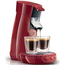New Genuine Philips Senseo HD7825 Viva Cafe Coffee Expresso Machine Red 220V