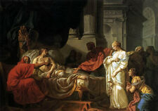 Art Oil painting Jacques Louis David - Antiochus and Stratonica free shipping