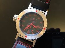 Invicta Force Super Rare Left Handed Red Accents