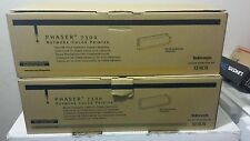 Lot OF 2-XEROX PHASER 7300 ( 016197900/016197600 Black & Yellow New Sealed )