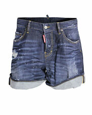 DSQUARED D2 JEANS SHORTS DESTROYED GR. IT 42 D 36 / S * NEU S72MU0206