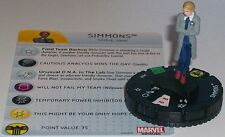 SIMMONS #022 Nick Fury Agent of S.H.I.E.L.D Marvel HeroClix