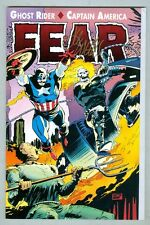 Fear: Ghost Rider- Captain America 1992 Signed by Lee Weeks
