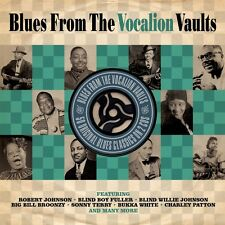 BLUES FROM VOCALION VAULT (IDA COX, BUKKA WHITE, TEXAS ALEXANDER, ) 2 CD NEU