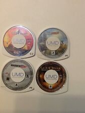 PSP Lot of 4  #4 God of War Madden 07 Playstation