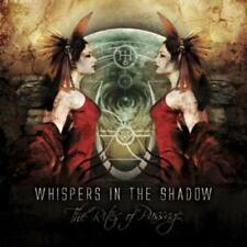 """Whispers In The Shadow-CD: """"The rites of passage"""""""