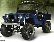 RC Truck Body Shell 1/10 SawBack SPORTS JEEP WRANGLER WILLYS MILITARY JEEP -NEW-