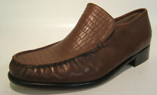 MENS GRENSON SHOES STYLE:9684 LIGHT BROWN SLIP ON  SIZE 7.5G