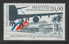 XG-Z400 MAYOTTE - Aviation, 1997 Airmail, New Air Terminal MNH Set