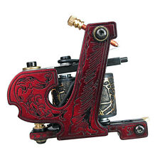 Solong Tattoo Coil Tattoo Machine Guns With 10 Wraps Shader and Liner MZZA12-1