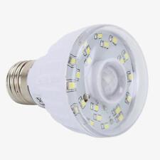 E27 Lampadina 23 LED Bianco 1,8W 220-240V PIR SENSORE MOVIMENTO IR Luce Casa