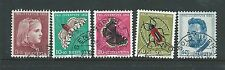 SWITZERLAND PRO JUVENTUTE 1953 SET CAT GB£23