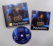 Tomb Raider Chronicles (Sony PlayStation 1, 2000) Action/Adventure