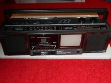 AM/FM RADIO/CASSETTE RECORDER/B&W TV, NEW