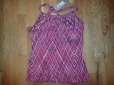 NEW Prana Womens Yoga Tank Exercise Work out shirt top Size large Cute Nice $55