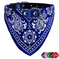 Adjustable Scarf Pet Dog Puppy Cat Neck Scarf Bandana Collar Neckerchief M
