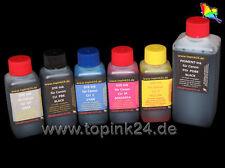 750ml Tinte Ink für Canon Pixma MP980 MP990 PGI-520 CLI-521 PG BK C Y M GY Gray
