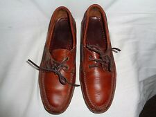 Quoddy Hand Made Men's Brown Boat Shoe Size 11M
