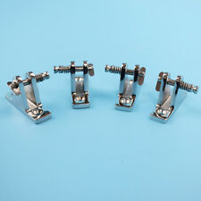 Lots Of 4 Deck Hinge Boat Bimini Top Fitting 90 Degree Pin Stainless steel Hot