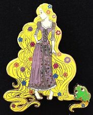 ART OF RAPUNZEL TANGLED NON DISNEY PRINCESS PASCAL GLOW IN DARK FANTASY PIN LE75