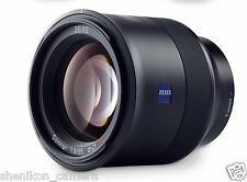 New Carl Zeiss Batis T* Sonnar 85mm F1.8 Full Frame Lens Sony E Mount A7 A7R2