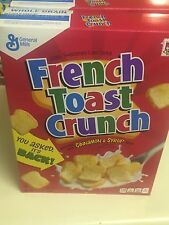 NEW General Mills French Toast Crunch Cereal 11.6 oz.- Free Shipping!