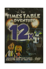 Times Table Adventure DVD - 12 Times Tables - Learn your Times Tables a Fun Way!