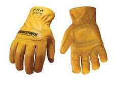 YOUNGSTOWN GLOVE CO. ~ 12-3365-60-L  FR Gloves ~ Goat Grain Leather, M Pair