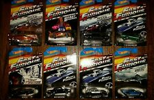 NEW HOT WHEELS 2014 FAST & FURIOUS LOT COMPLETE SET OF 8 VHTF