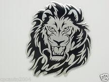 Car  Tiger Lion Emblem Badge Trunk Side Metal Aluminum  8cm