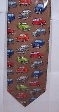 Morris Minor cars etc on Silk Tie